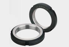 AN型精密圆螺母尺寸参数表  无锁固螺丝