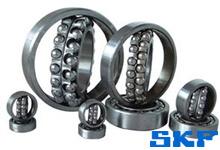 SKF开放型圆柱孔调心球轴承选型表