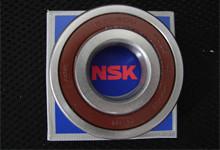 NSK两侧带密封圈型单列深沟球轴承选型表