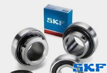 SKF带平头螺钉锁定的Y轴承选型表