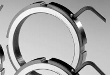LR/LRE弹片锁紧螺母(可调节螺母)选型表